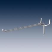 Крюк одинарный, покрытие глянцевый цинк Ø 4,0 mm