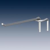 Крюк одинарный на штангу покрытие хром Ø 8 mm