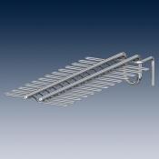 Держатель для двадцати четырех  ракеток для настольного тенниса покрытие хром Ø 100 mm