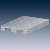 Алюминиевая, рифленая насадка для паллеты