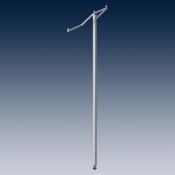 Консоль для стойки, регулируемая по высоте покрытие хром
