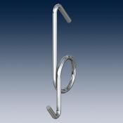 Крюк для светильников  покрытие глянцевый цинк