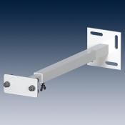 Держатель для стеллажа 401960 RAL 9006 светло-алюминиевый
