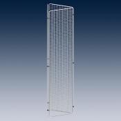 Треугольный дисплей RAL 9006 светло-алюминиевый